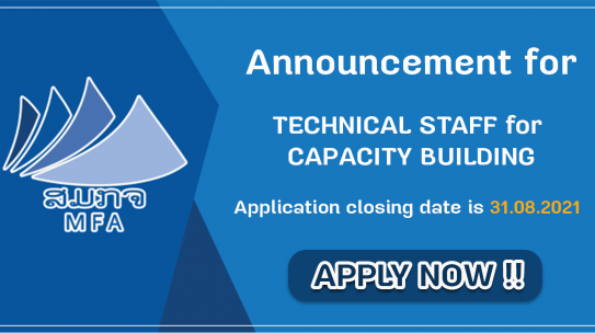 TECHNICAL STAFF for CAPACITY BUILDING