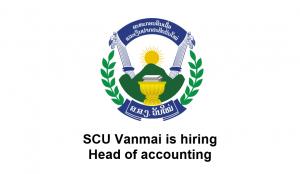 SCU Vanmai is hiring Head of accounting